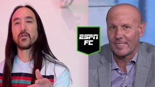 Steve Aoki and Craig Burley crossover you didn't know you needed! | #Shorts | ESPN FC