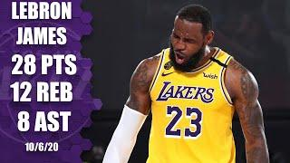 LeBron James leads Lakers with 28 points against Heat [GAME 4 HIGHLIGHTS] | 2020 NBA Finals