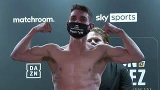 BRITAIN'S BEST KEPT SECRET? - THOMAS PATRICK WARD VS THOMAS ESSOMBA OFFICIAL WEIGH-IN & FACE OFF