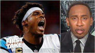 Stephen A. doesn't have enough faith in Cam Newton to be a franchise QB right now | First Take