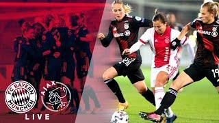 FC Bayern - Ajax Amsterdam im Re-Live | UEFA Women's Champions League