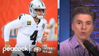 Don't buy the Las Vegas Raiders' recent support for Derek Carr | Pro Football Talk | NBC Sports