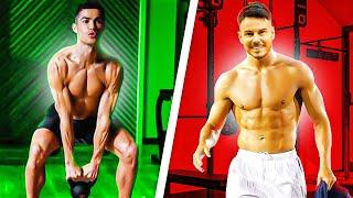 RONALDO TAKES ME THROUGH HIS WORKOUT    WE SHOW YOU HOW TO GET HIS POWER