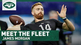 How Brett Favre Helped James Morgan Fall In Love With Football | Meet The Fleet | New York Jets