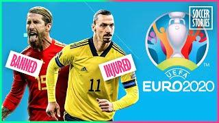 11 football stars who will miss the Euro | Oh My Goal