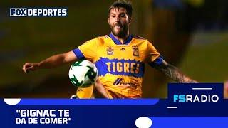 """Gignac te da de comer"", Alex Blanco al 'Ruso': FOX Sports Radio"