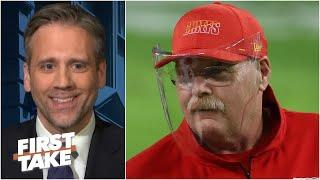 'Andy Reid doesn't coach scared!' - Max Kellerman gives props to the Chiefs head coach   First Take