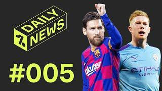 Kevin de Bruyne is the EPL's best player + Will Messi leave Barcelona?!  Daily News