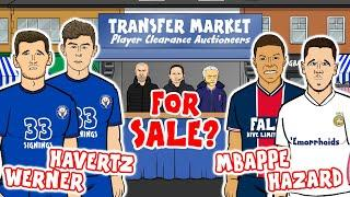 Chelsea try to sell Werner and Havertz for FREE!?!?!?  442oons Transfer Special