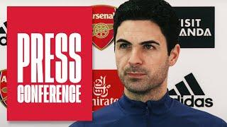 Aubameyang's injury, Martinelli's return, our form & Man City | Mikel Arteta | Press Conference