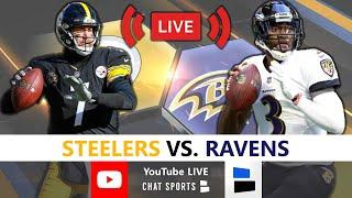 Steelers vs. Ravens Live Streaming Scoreboard, Free Play-By-Play, Highlights, Analysis | NFL Week 12