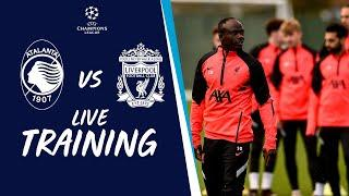 Champions League training | Atalanta vs Liverpool