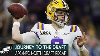 Comparing Recruiting to the Draft Process & NFC/AFC North Draft Recaps | Journey to the Draft