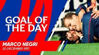 GOAL OF THE DAY | Marco Negri v Hearts 1997
