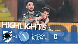 Highlights Serie A - Sampdoria vs Napoli 2-4