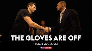 REVISITED! Carl Froch & George Groves' INTENSE encounter | Gloves Are Off