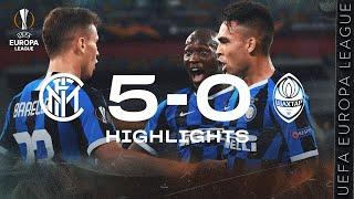 INTER 5-0 SHAKHTAR   HIGHLIGHTS   2019/20 UEFA Europa League   We're in the Final!!!