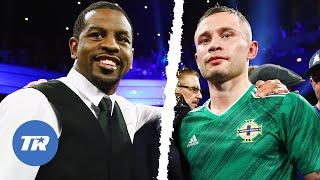 Jamel Herring & Carl Frampton Go Back And Forth Previewing Their World Title Fight