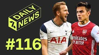 Dybala offered to 'BIG SIX' + Kane SMASHES record!