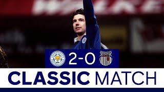 Izzet & Heskey Headers Secure Win | Leicester City 2 Grimsby 0 | Classic Matches