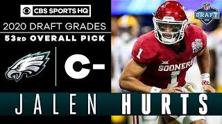 Eagles SHOCK the NFL by taking Jalen Hurts with the 53rd pick | 2020 NFL Draft