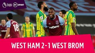 West Ham vs West Brom (2-1) | Hammers climb to seventh! | Premier League Highlights