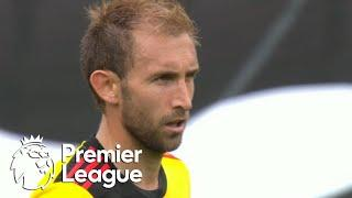 Craig Dawson scrambles home Watford's equalizer against Leicester City | Premier League | NBC Sports