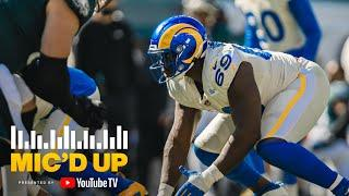 """""""He Hit Him With the Circle Button"""" Sebastian Joseph-Day Mic'd Up vs Eagles 