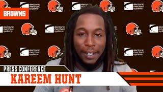 "Kareem Hunt: ""It's an honor to be here in my hometown"""