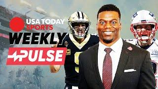 Former NFL TE Benjamin Watson reflects on playing with Tom Brady and Drew Brees | Weekly Pulse