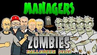 Football managers ️ vs ZOMBIES!   442oons Halloween Special ‍️