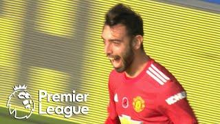 Fernandes heads in Manchester United equalizer against Everton | Premier League | NBC Sports