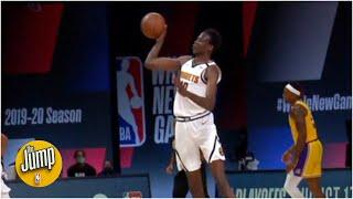 Bol Bol's full-court assist was awesome, but was it as good as Nikola Jokic's? | The Jump