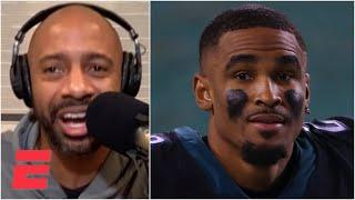 'Give this man his flowers!' - JWill on Jalen Hurts leading the Eagles over the Saints | KJZ
