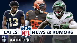 NFL Rumors, Injury News On Le'Veon Bell, Michael Thomas, David Njoku & NFL Week 1 Coaching Hot Seats