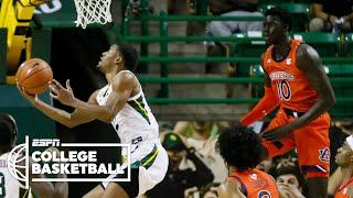 No. 2 Baylor wins at home vs. Auburn [HIGHLIGHTS] | ESPN College Basketball