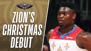 Zion Williamson Drops 32 PTS & 14 REB In #NBAXmas DEBUT