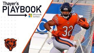 Montgomery's presence opens opportunities downfield   Thayer's Playbook   Chicago Bears