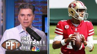 49ers' playoff hopes bleak after injuries | Pro Football Talk | NBC Sports