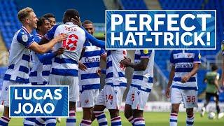 PERFECT HAT TRICK! | Left foot, right foot, header by Lucas João against Colchester
