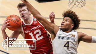 Oklahoma defeats West Virginia in epic double OT thriller [HIGHLIGHTS] | College Basketball on ESPN