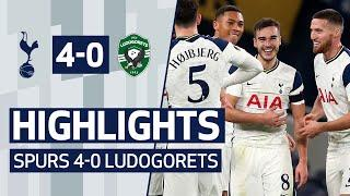 HIGHLIGHTS | SPURS 4-0 LUDOGORETS | Harry Winks' INCREDIBLE 56-yard goal!