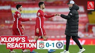 Klopp's Reaction: 'Intense game with a decisive mistake' | Liverpool vs Chelsea