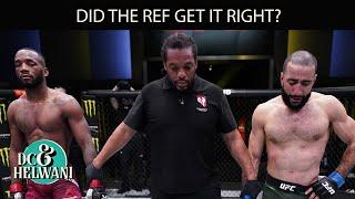 Did the ref get the Leon Edwards vs. Belal Muhammad ruling right? | ESPN MMA