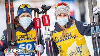 Diggins & Brennan give USA another 1-2 finish in Tour de Ski 10k - Toblach, Italy  | NBC Sports