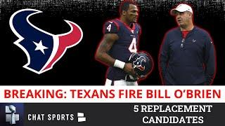 BREAKING: Bill O'Brien Fired As Houston Texans Head Coach - Full Details + 5 Replacement Candidates