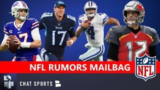 NFL Rumors Mailbag On Dak Prescott Trade? Impact Rookies? NFL Top 100: Josh Allen Or Ryan Tannehill?