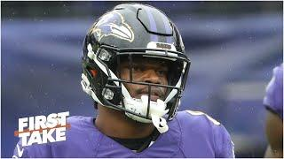 Is Lamar Jackson the QB under the most pressure? First Take debates
