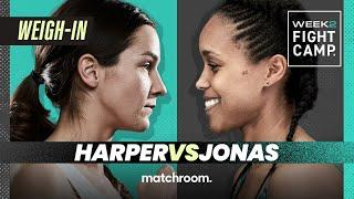 Fight Camp 2: Terri Harper vs Tasha Jonas plus undercard weigh-in