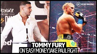 """""""Easy Money"""" Tommy Fury Slams Jake Paul For Choosing Tyron Woodley And Avoiding A Bout With Him"""